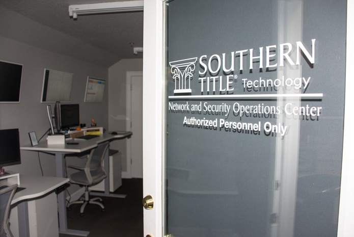 Southern Title has invested in a state-of-the-art Network & Security Operations Center to protect the integrity of our customers' personal information, prevent wire fraud, and maintain maximum safety and security at each of its locations.